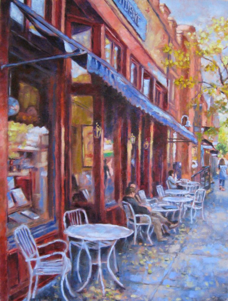 Painting by Ann Beemer Candler