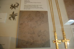 Pleiades and Regulus pin plus sketches at Planting Fields