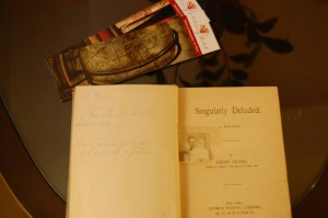 Book with beautiful inscription from 1899