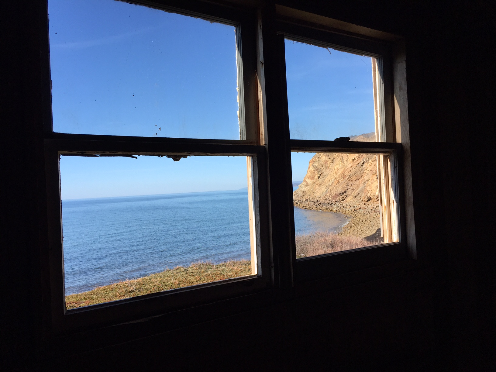 bluff seen from writers shack