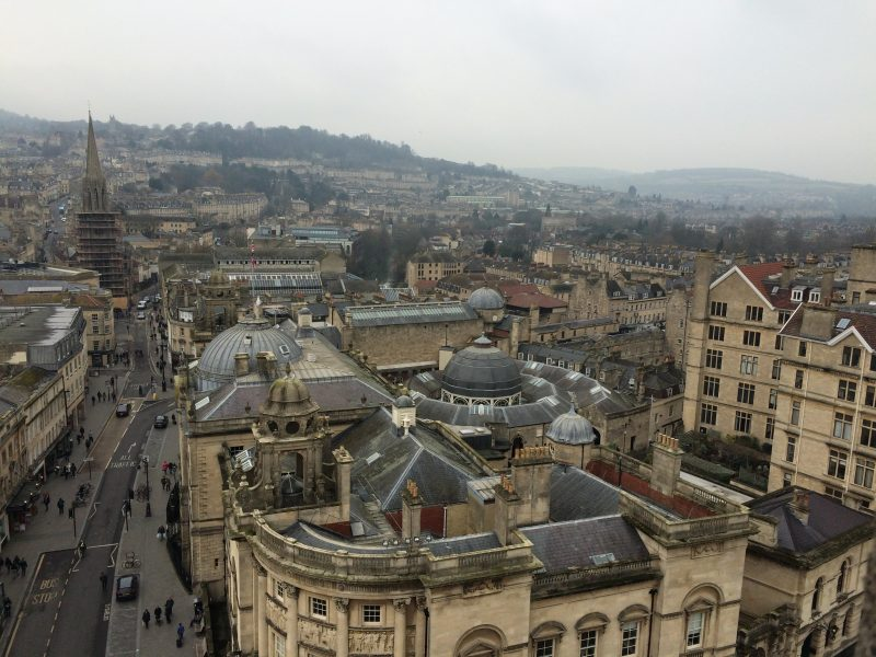 View of Bath Abbey Tower